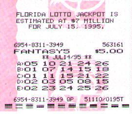pick 5 florida lottery