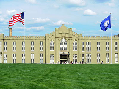 Virginia Military Institute, Henry M. Stewart Antique Firearms Collection Exterior