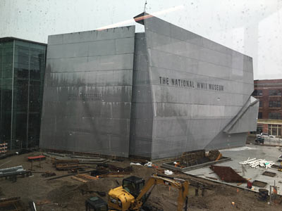 National WWII Museum Exterior