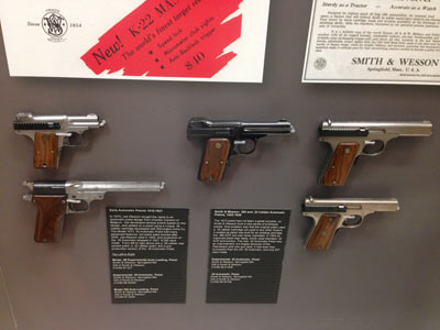 Wood Museum of Springfield History, Smith & Wesson Gallery of Firearms History Case